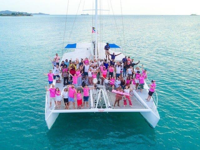 Hire a sail boat in Antigua
