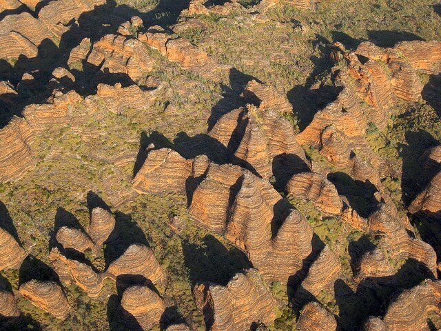The Bungles Bungles from above