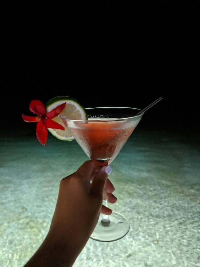 Cocktails in Samoa