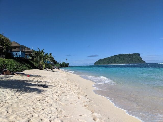 Lalomanu Beach Samoa