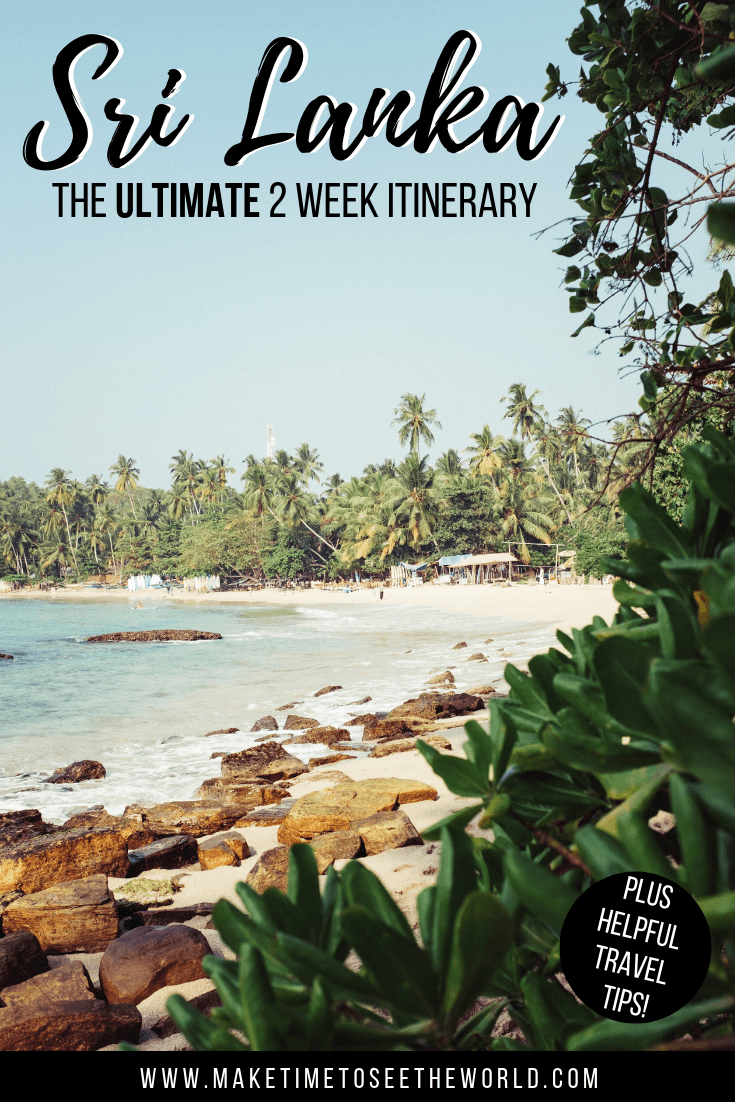 The Ultimate Sri Lanka Itinerary - 2 Weeks or More