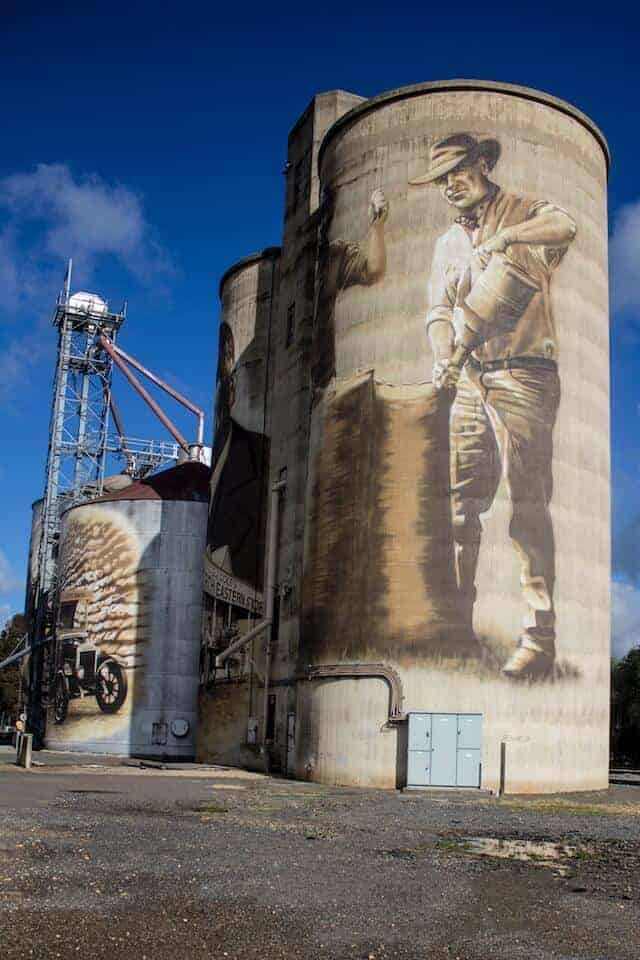 Silo Art in Victorias High Country