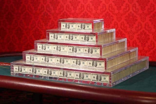 Binions Gambling Hall 1 Million Pyramid