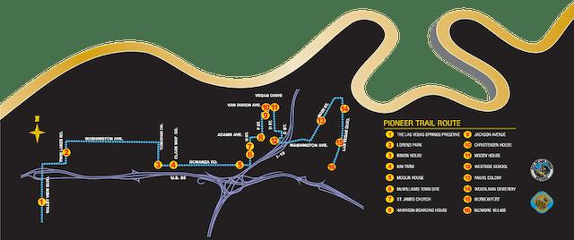 Pioneer Trail Map