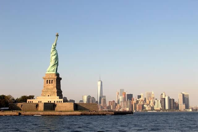 State of Liberty from Staten Island Ferry
