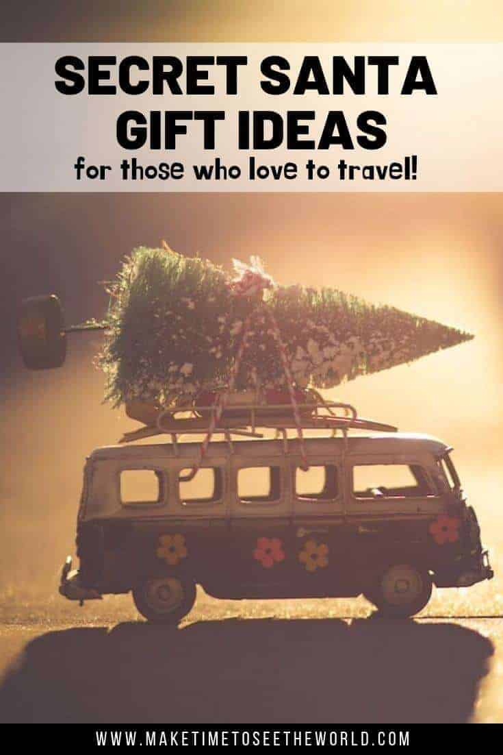 The BEST Secret Santa Gifts for Travel Lovers #travelgifts #secretsanta Travel Gifts | Travel Presents | Next Day Delivery | Christmas Gifts | Christmas Gift Ideas