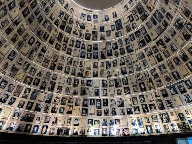 Memorial Room in Yad Vashem Holocaust Museum