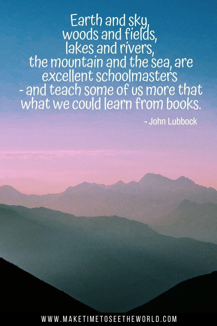 Mountain Quote by John Lubbock