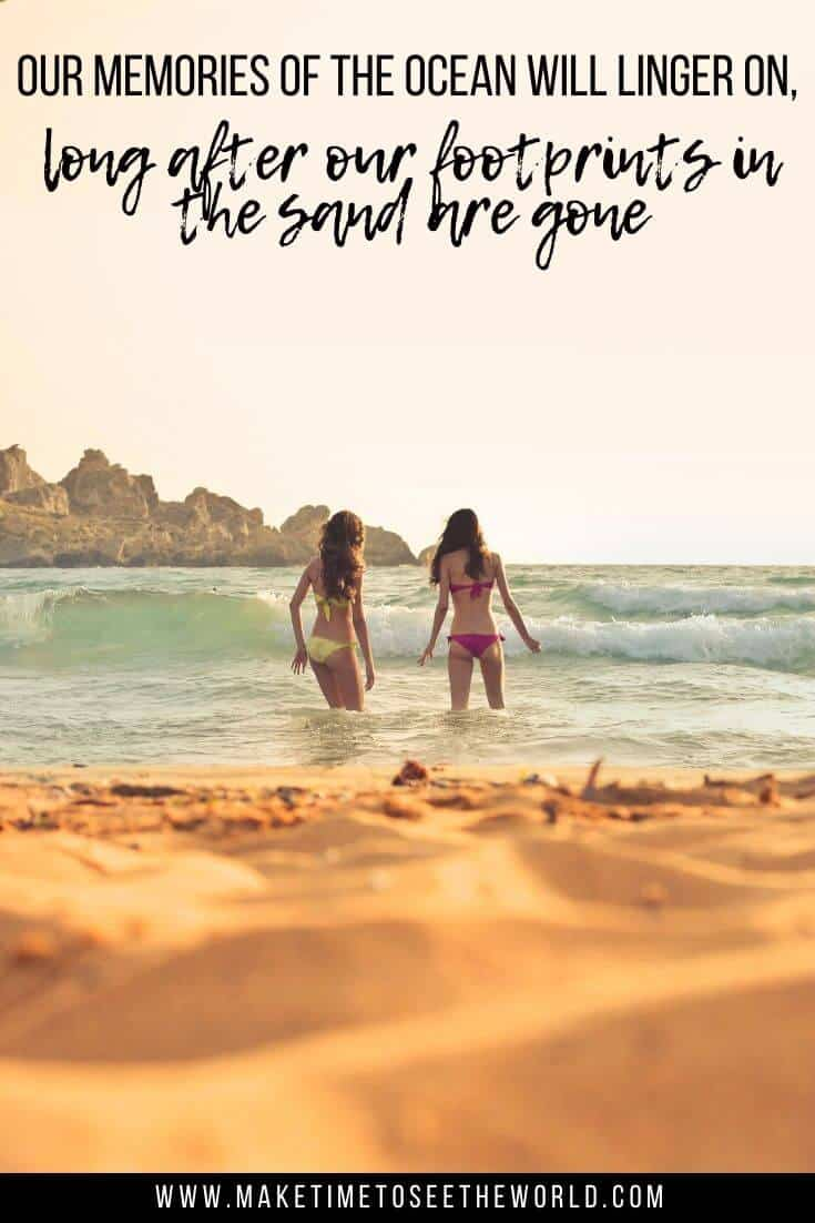 Beach quote for friends