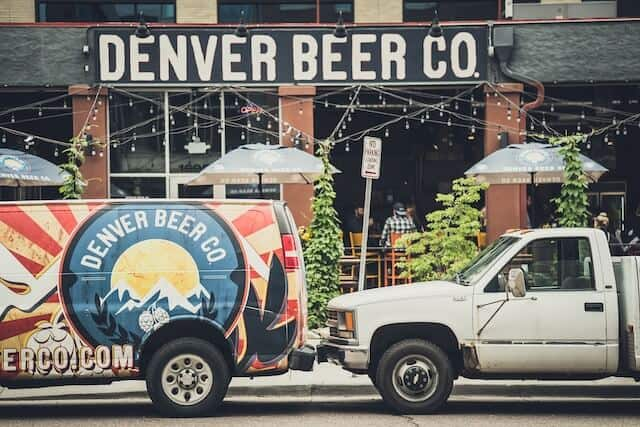 Denver Brewing Company sign