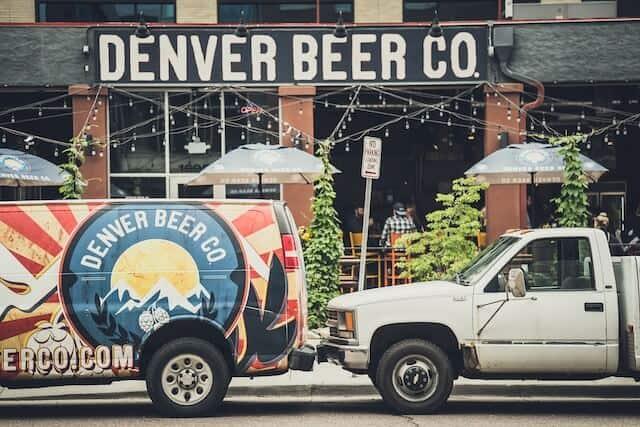 Denver Brewing Company sign