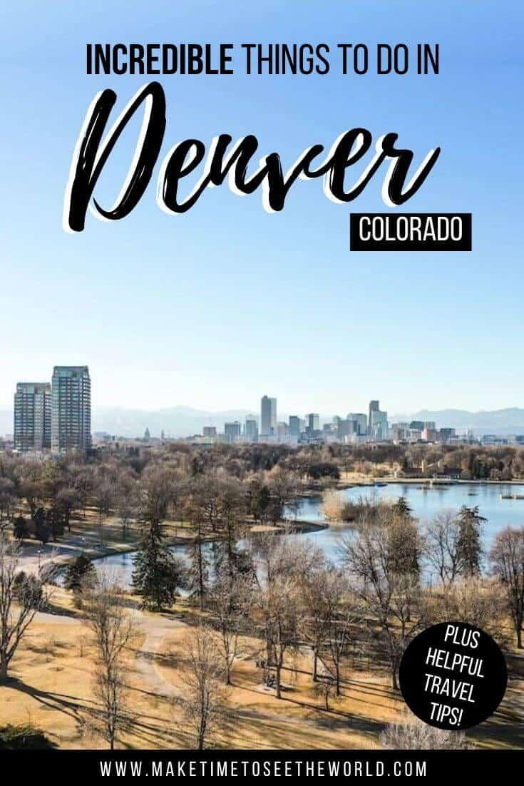 Fun Thing to Do in Denver Colorado
