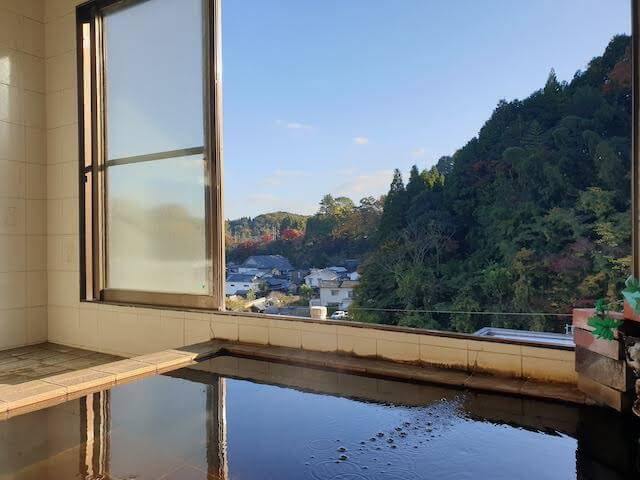 Onsen with View
