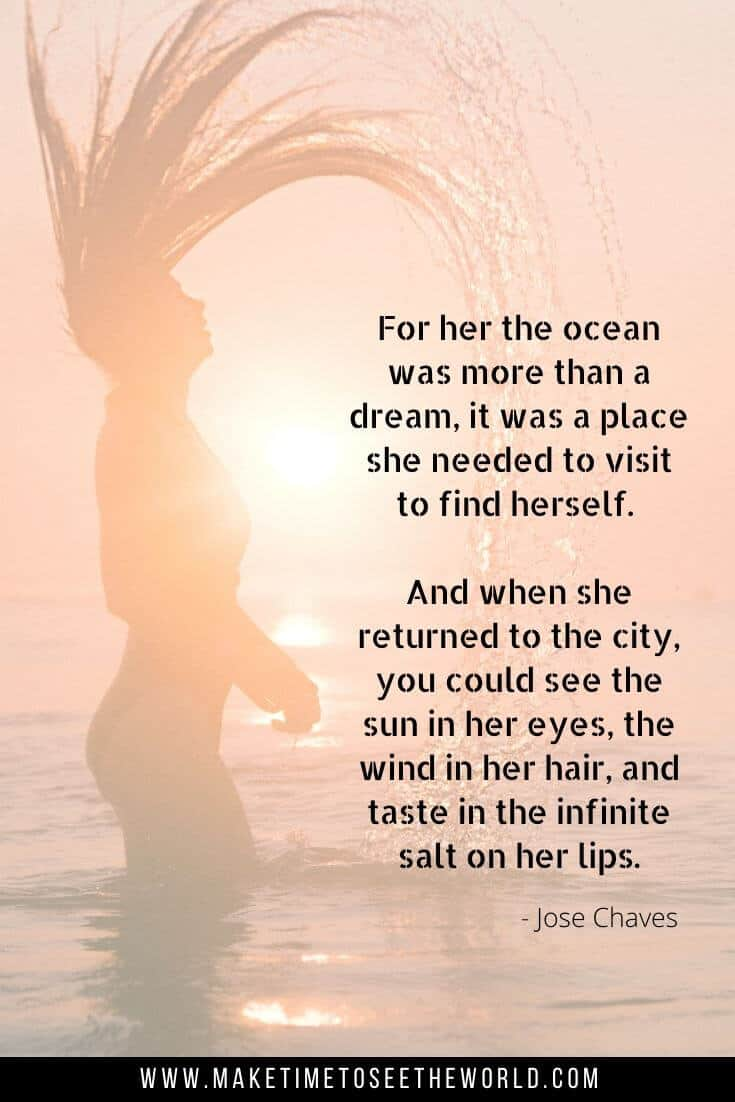 The Ocean was more than a dream - ocean quote