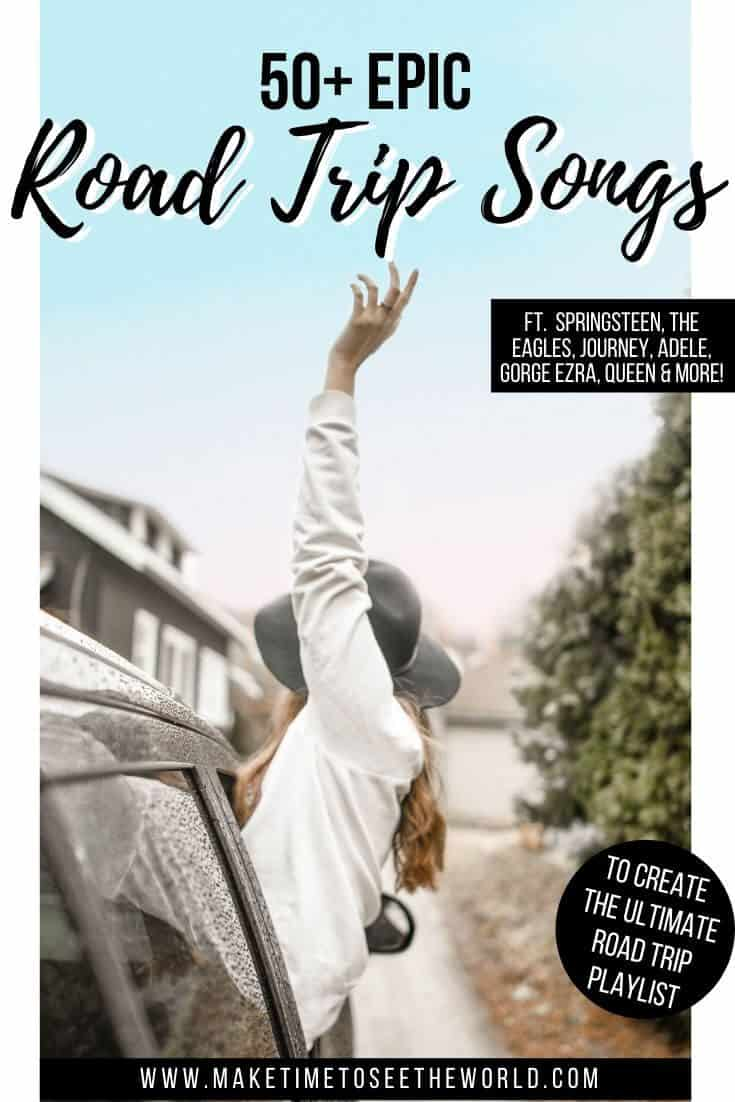 Road Trip Songs for Your Road Trip Playlist
