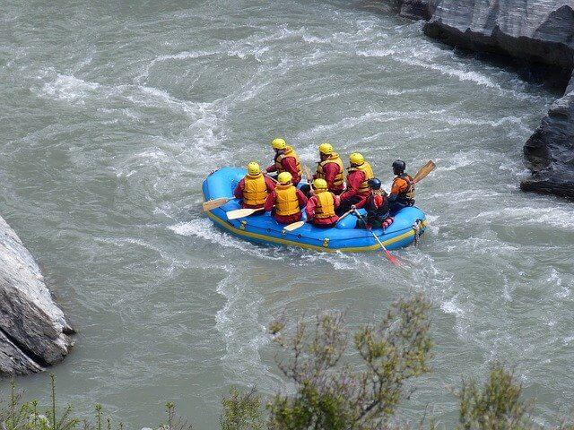 White Water Rafting in Queenstown