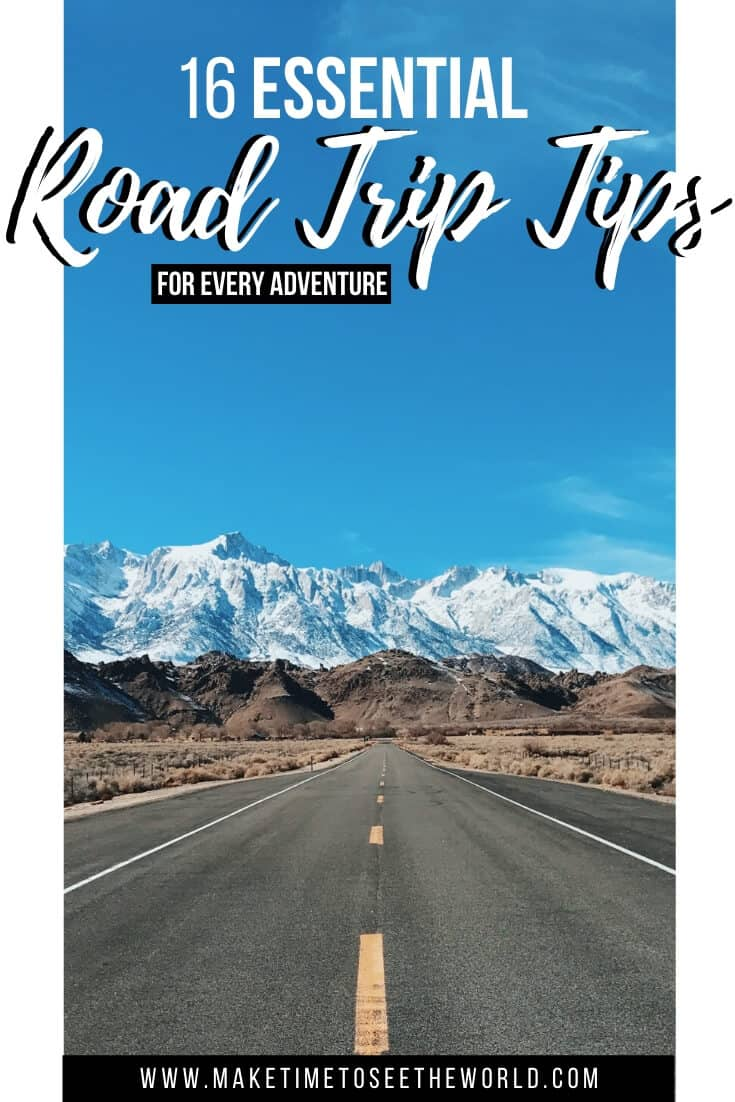 16 Essential Road Trip Tips to Get You from A to B