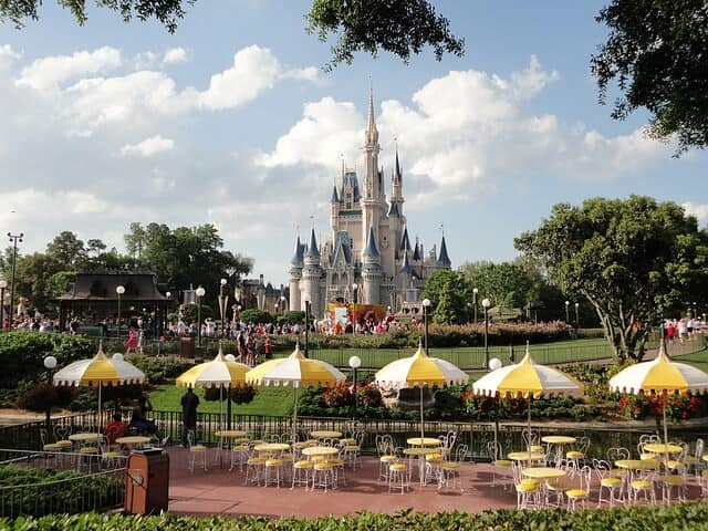 Magic Kingdom in Disney World Florida