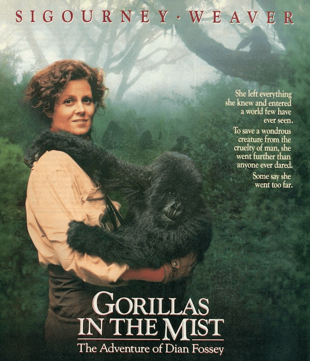 Gorillas in the Mist Movie Cover