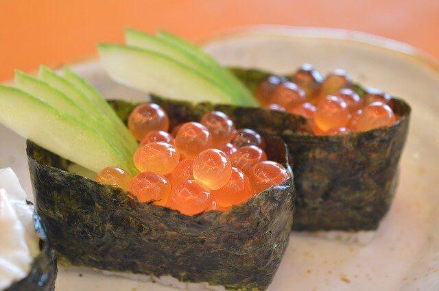 Gunkan maki - Battleship Sushi