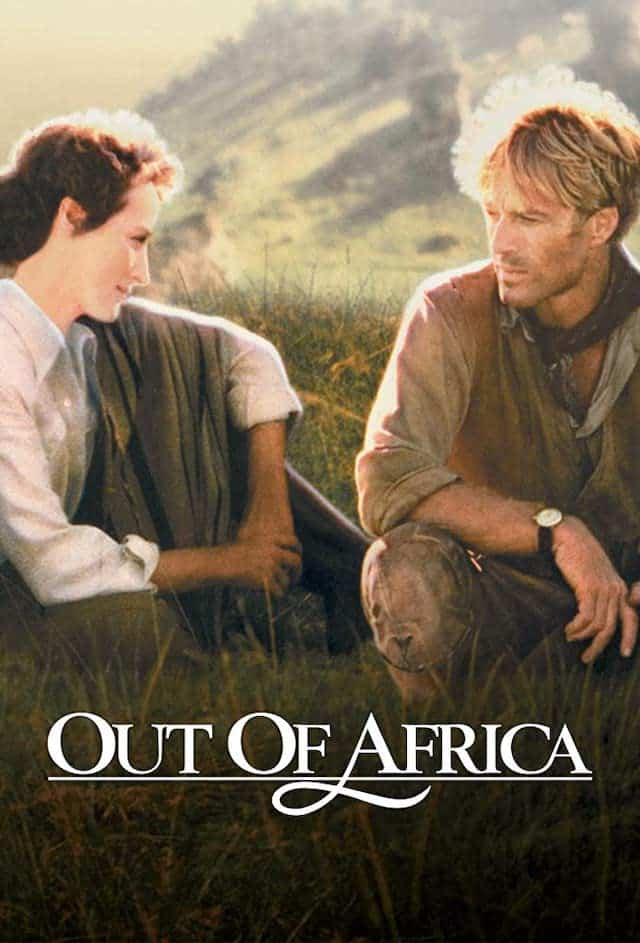 Out of Africa Movie Cover
