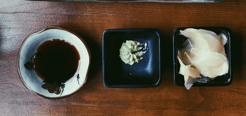 Soy Sauce, Wasabi & Daikon
