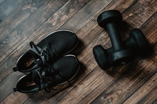 Work out at home (to get ready for travel)