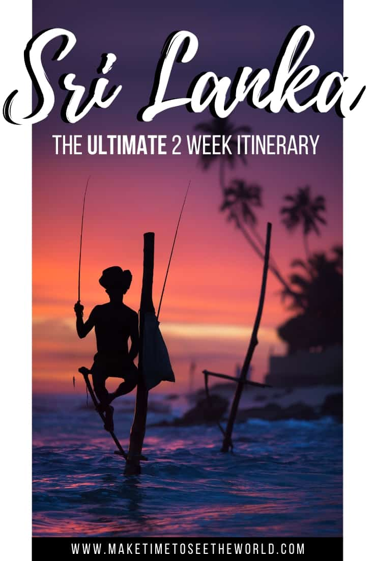 2 Week Sri Lanka Itinerary