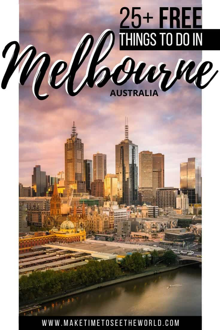 25+ Free Things to do in Melbourne Australia