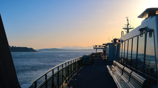 Bainbridge Island Ferry Seattle Washington