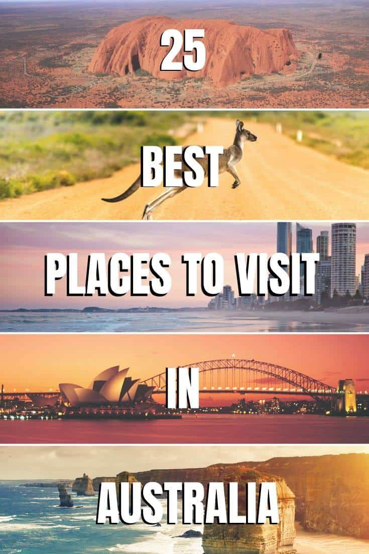 25 BEST Places to Visit in Australia