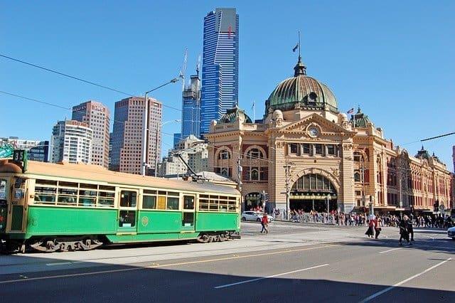 Circle Tram in Melbourne