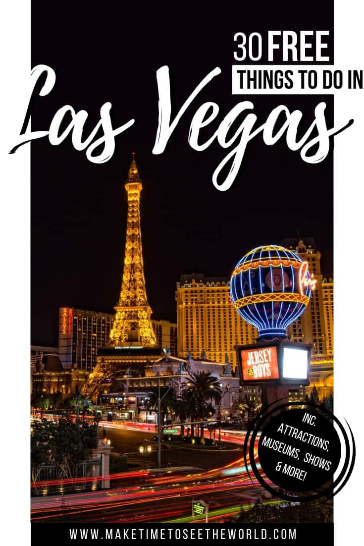 Free Things to do in Las Vegas Nevada