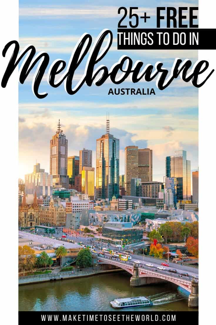 Free Things to do in Melbourne Australia