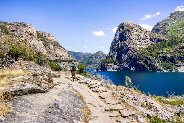 Hetch Hetchy valley Yosemite National Park