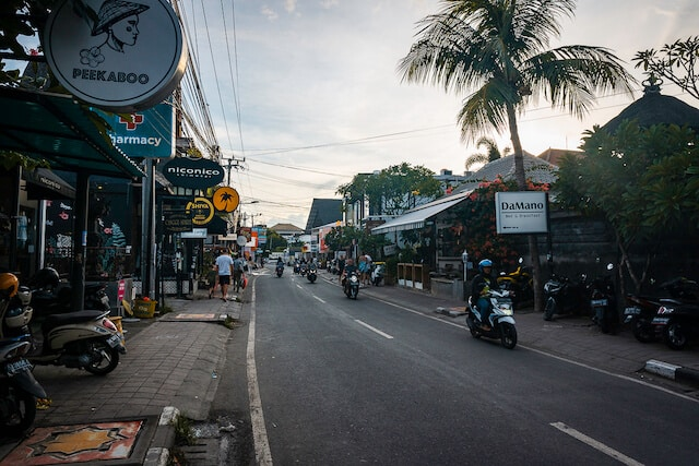 Motorbikes in Ubud - How to get around Bali