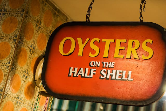 Oysters in New Orleans