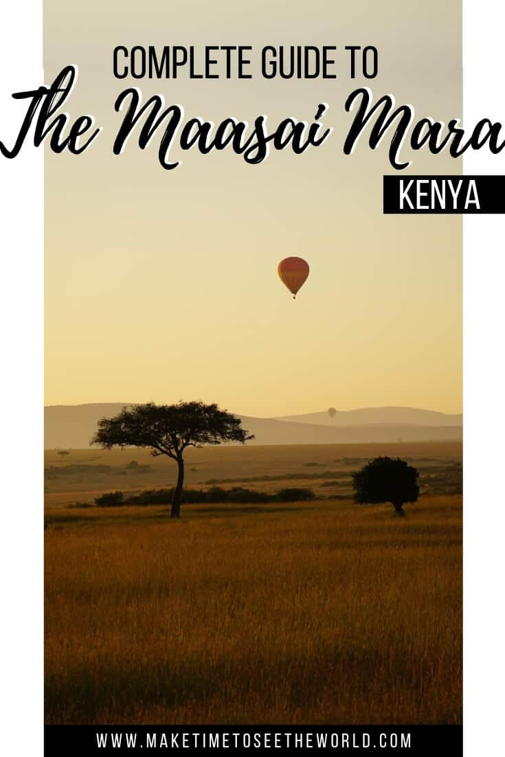 Photo Tour of Maasai Mara National Reserve Kenya