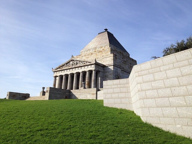 hrine of Rememberance Melbourne