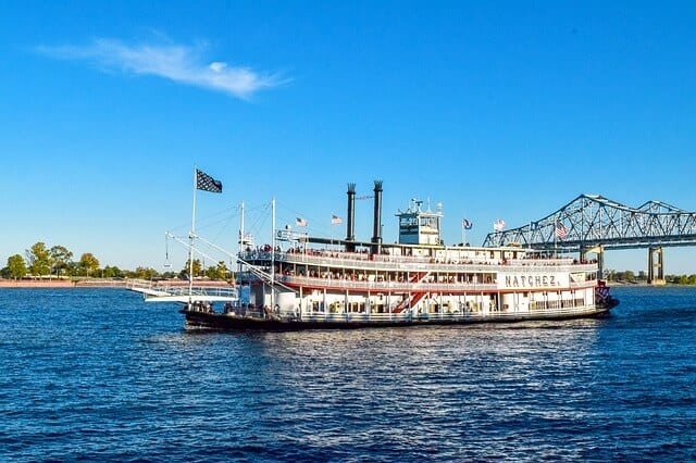 Steamboat Natchez in New Orleans Louisiana