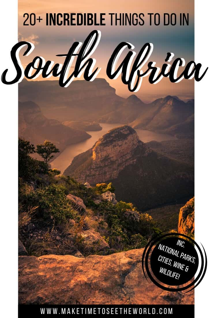Things to do in South Africa - A Complete South Africa Bucket List