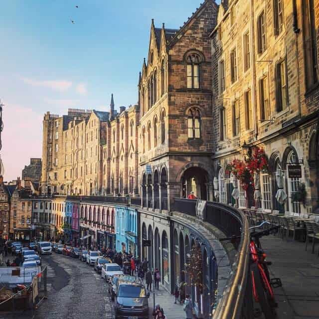 Victoria St in Edinburgh