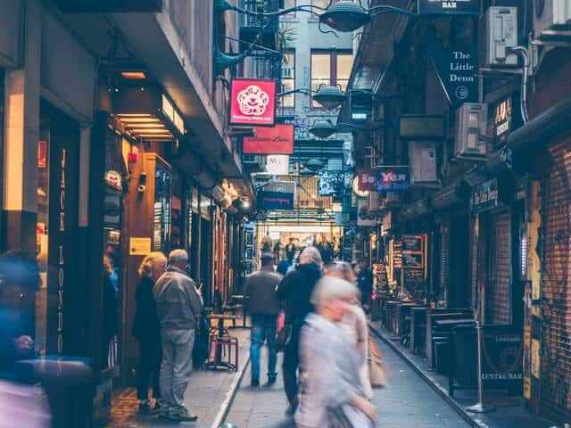 Wander the Laneways - Free Things to do in Melbourne