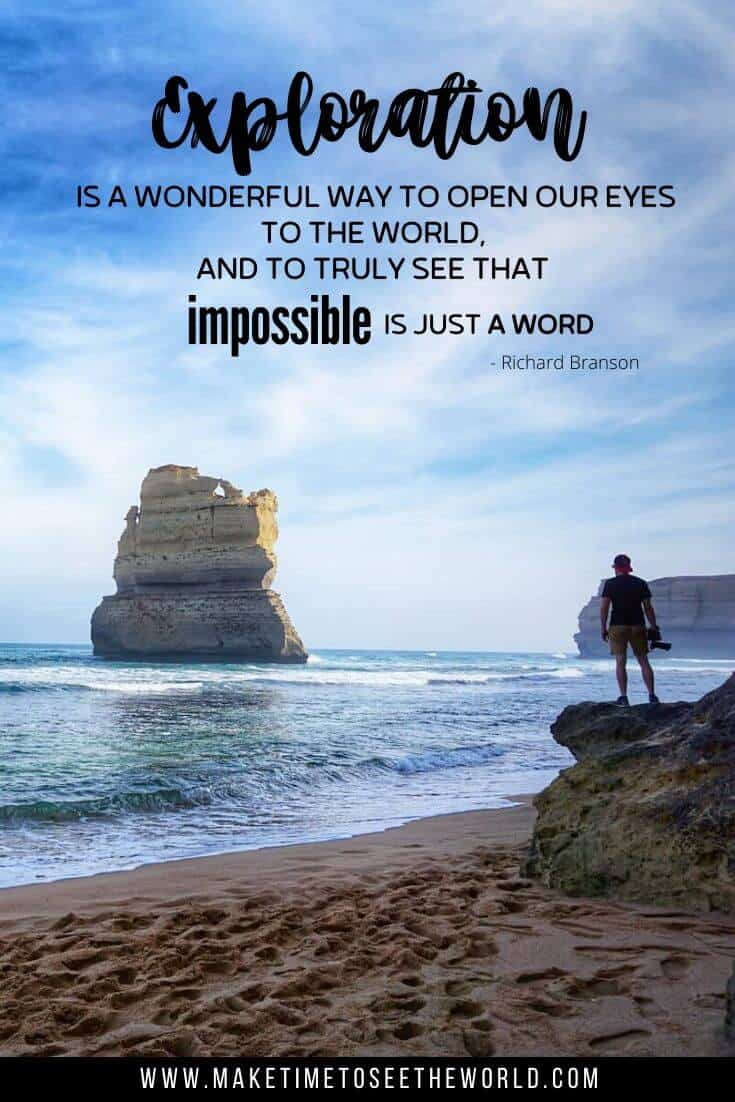 Explore Quotes: Exploration is a wonderful way to open our eyes to the world; and to truly see that impossible is just a word - Richard Branson