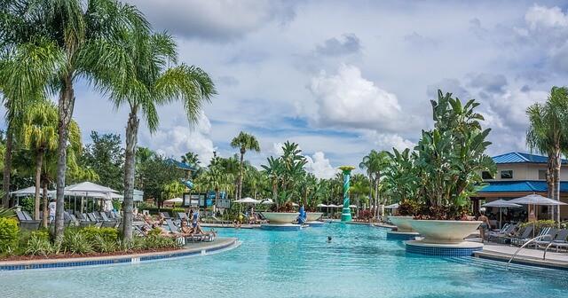 Resort Pool in Orlando Florida
