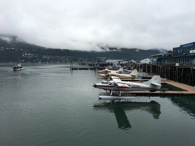 Seaplanes in Juneau