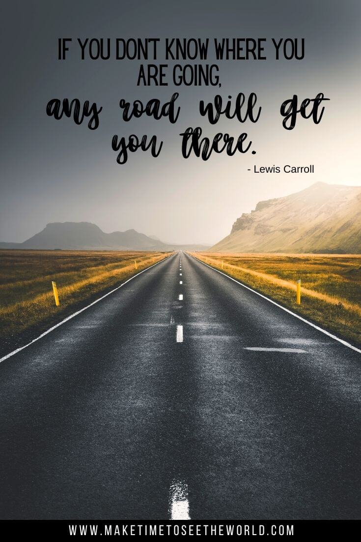 Any road can take you there road trip quote