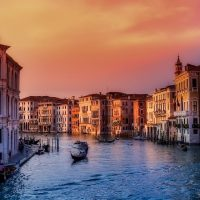 Photo of the Grand Canal in Venice - one of the Best Places to Visit in Italy