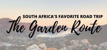 Link Tile: Road Trip South Africa's Garden Route