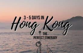 Link Tile: Hong Kong Itinerary (3-5 Days in Hong Kong & Macau)